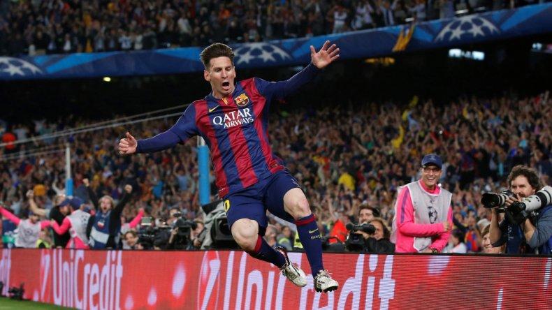 Messi ganó por cuarta vez el premio Goal
