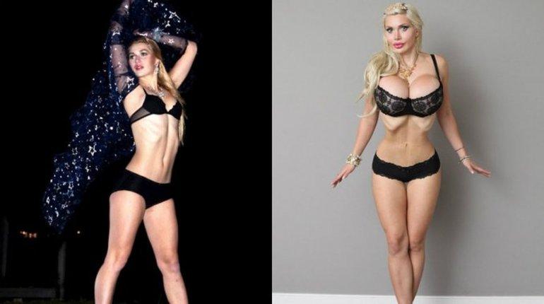 Una modelo se sacó seis costillas para parecerse a Jessica Rabbit