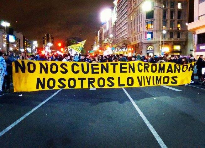 Sobrevivientes organizan una masiva marcha