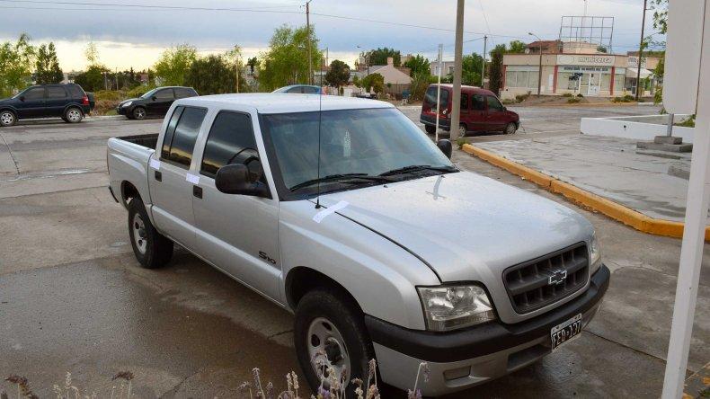 Secuestraron en Puerto Madryn una camioneta robada en Córdoba