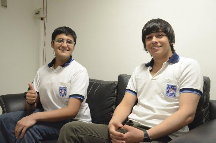 Víctor Ariel Blanco y Diego Soto de 5º Cuarta modalidad Industrias y Procesos contaron la experiencia que vivieron en Mendoza.
