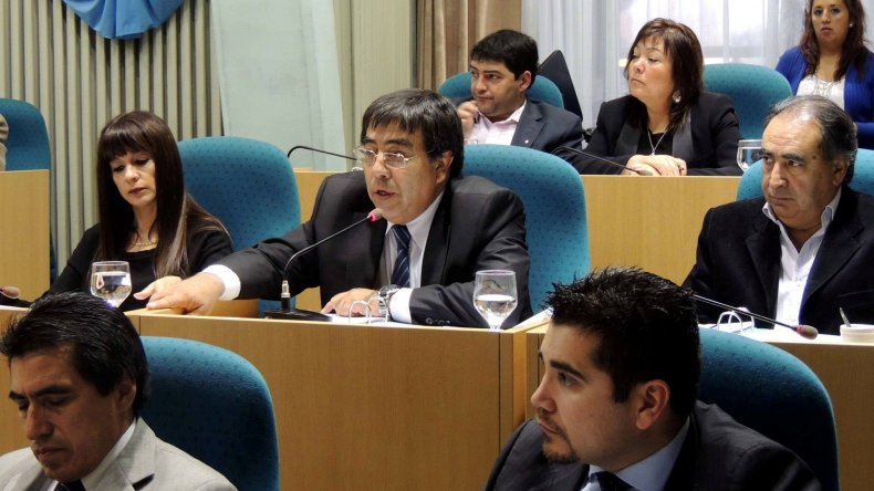 El diputado Rubén Contreras fue uno de los impulsores para la presentación del proyecto de derogación del impuesto minero.