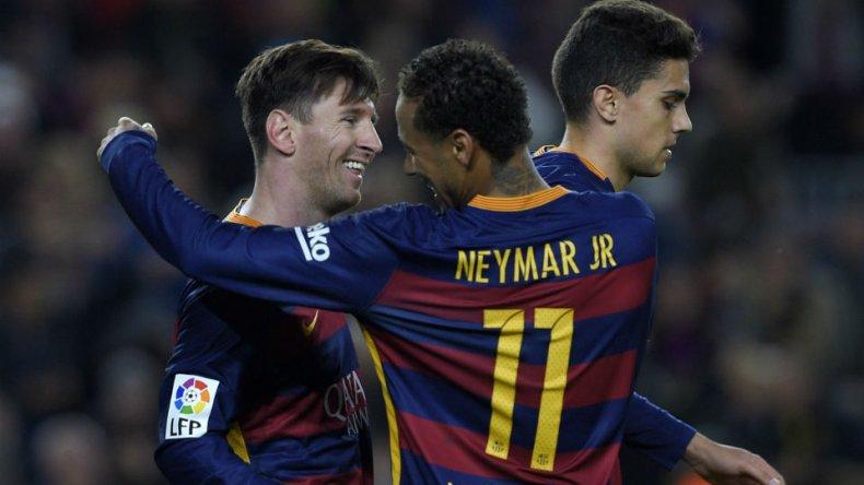 Un gol de Messi para otra exhibición de Barcelona