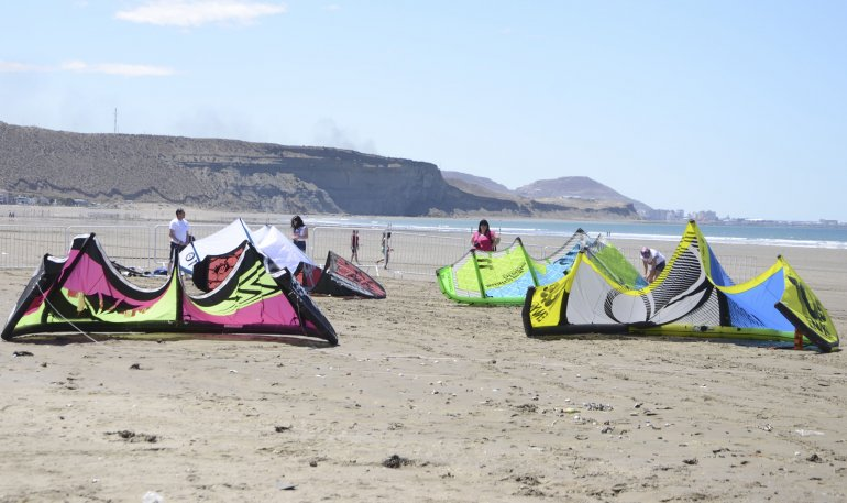 El kitesurf como adicción sin rivalidades