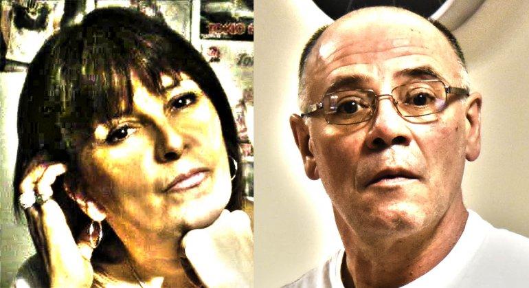 Marisa Santos y Claudio Lamonega se conocían de la juventud en Trelew y se transformaron en pareja en Sarmiento.