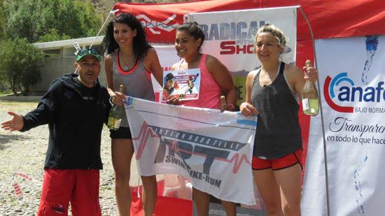 Las damas tuvieron una buena concurrencia en 30K en Rada Tilly.