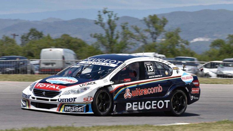 Agustín Canapino dominó en la clasificación del Super TC2000.