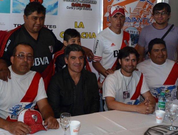 El Burrito Ariel Ortega visitó por primera vez la ciudad del Gorosito