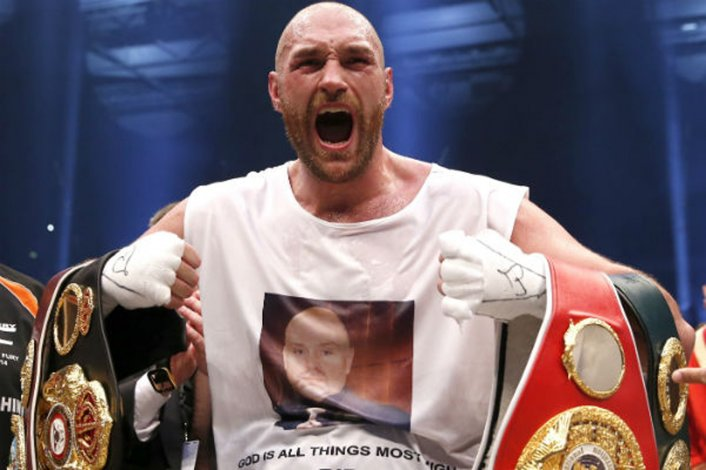 Tyson Fury terminó con el reinado de Wladimir Klitschko.