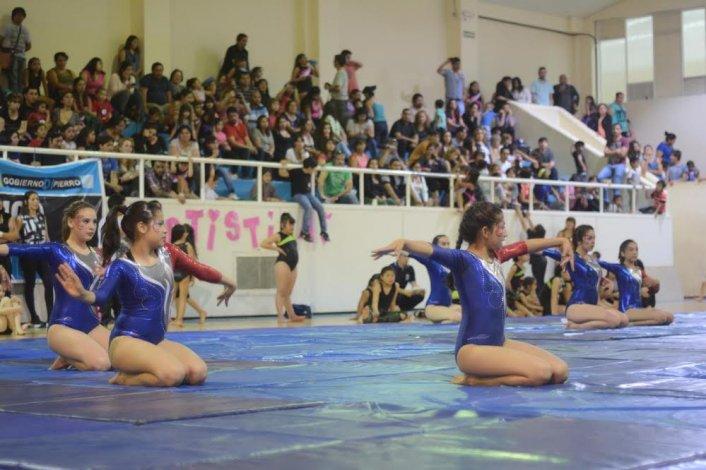 La gimnasia artística tuvo un gran cierre de temporada en el Municipal 1.