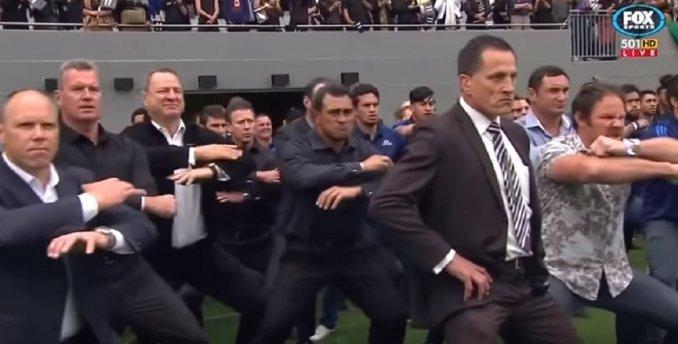 El Haka más emotivo: All Blacks en el funeral de Lomu