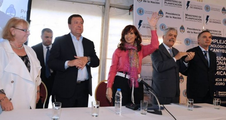 Cristina Kirchner: sin soberanía energética no hay nada