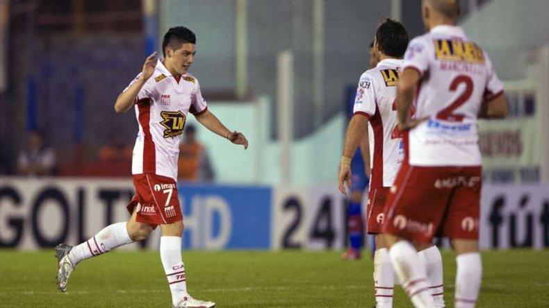 Cristian Espinoza está recuperado y espera con expectativa la primera final de la Copa Sudamericana.
