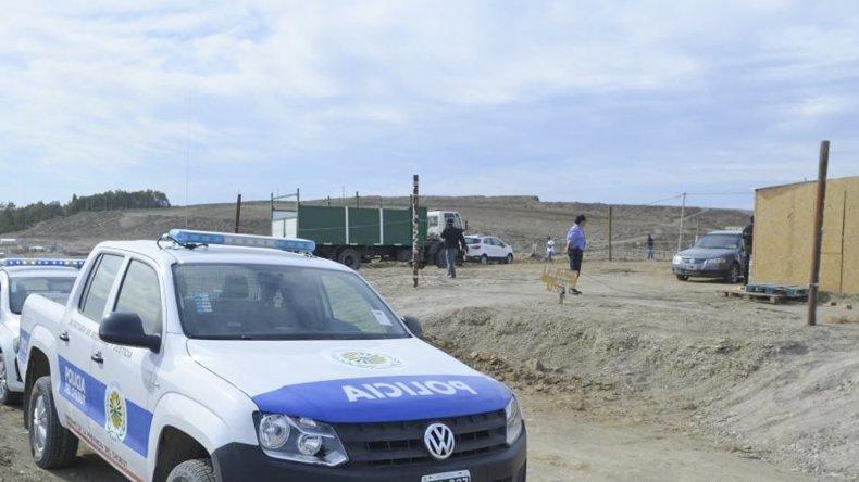 El municipio desalojó a familias que habían ocupado ilegalmente unos 200 lotes en la Fracción 15.
