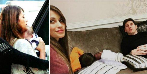 Antonella Roccuzzo se tatuó el nombre de su segundo hijo