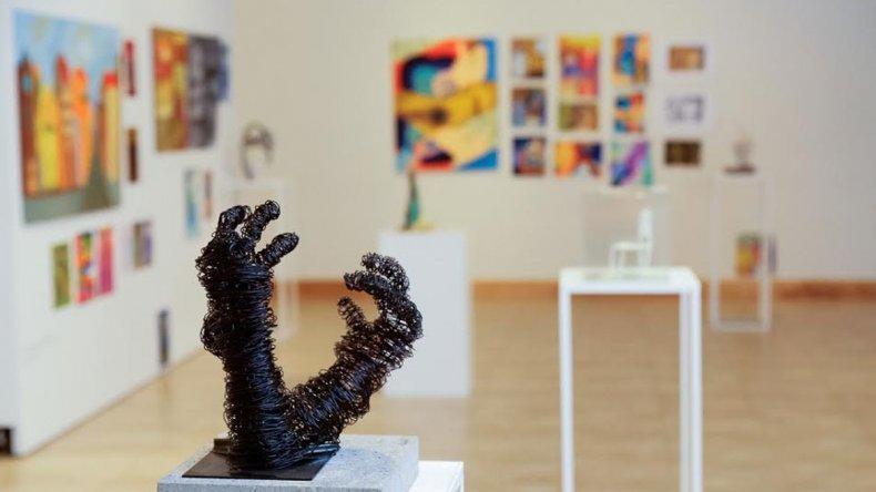 Inauguró la Muestra Anual de Arte de Rada Tilly