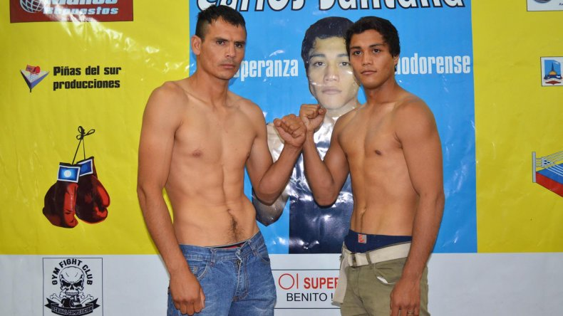 Roberto Méndez y Carlos Santana