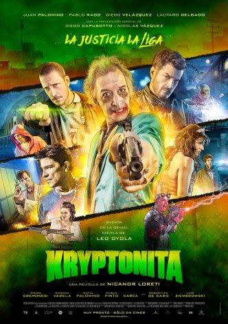 Kryptonita se proyectará en el Cine Coliseo prometiendo risas y acción al por mayor para los amantes de los comics.