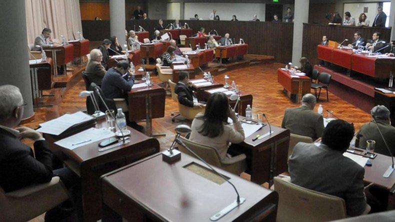 La sesión de ayer fue la última del actual período de la Legislatura de Chubut.