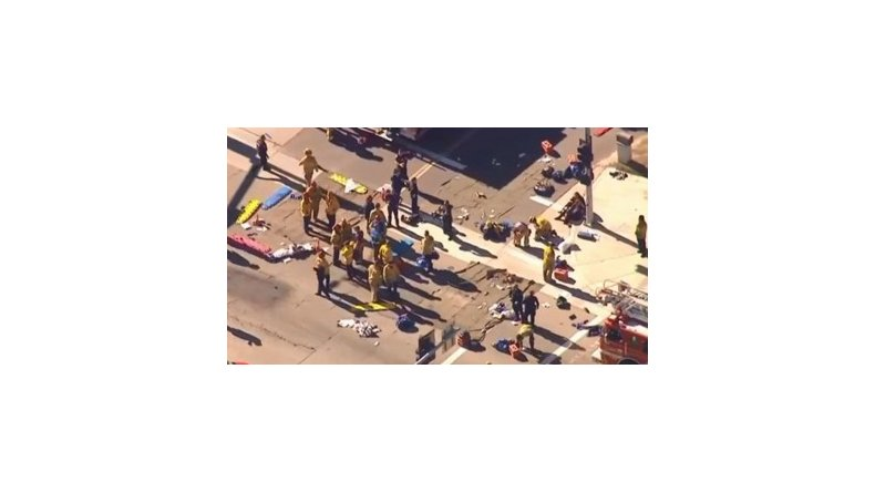 Doce muertos en tiroteo en California