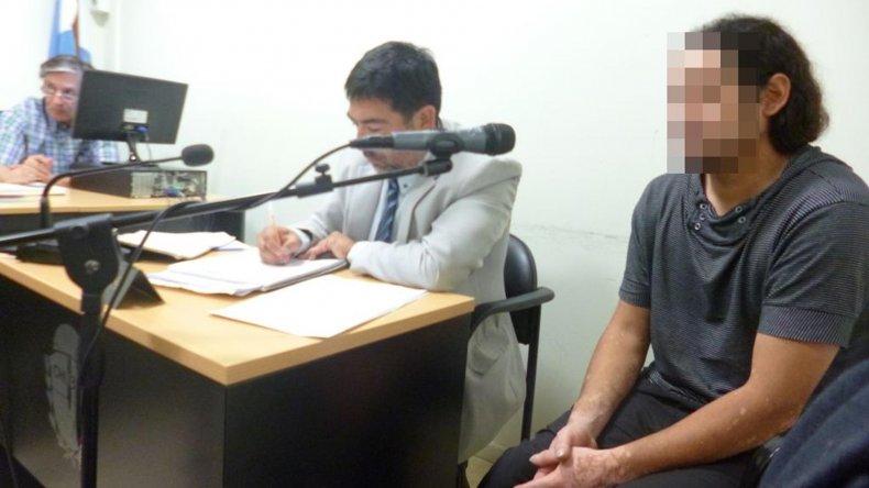 Richi Alvarado fue imputado y le dictaron tres meses de prisión preventiva.