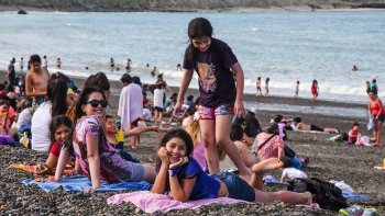 El verano se hizo sentir en Comodoro Rivadavia y sus alrededores con una máxima de 32°8.
