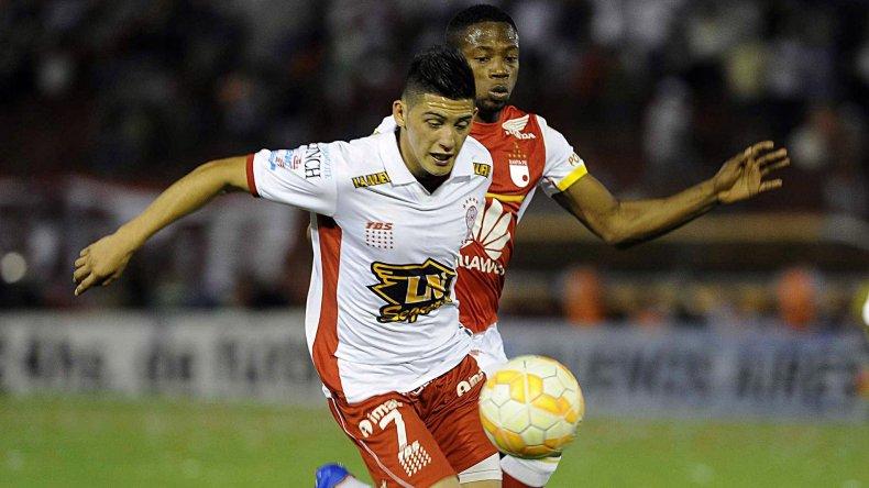 Huracán se vio complicado por la marca firme de Independiente Santa Fe.