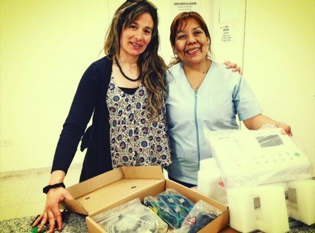 Realizaron nuevas donaciones al hospital Alvear