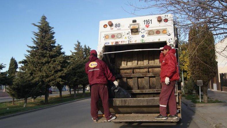 El próximo martes no habrá recolección de residuos