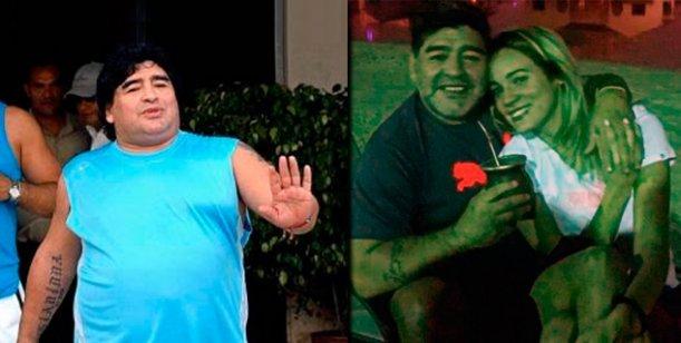 Diego Maradona mostró su nueva figura