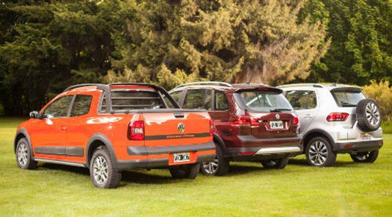 Volkswagen Argentina presenta los modelos Cross de Fox, Suran y Saveiro