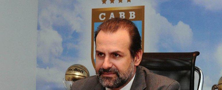 Federico Susbielles ahora apunta a ser el próximo presidente de la Confederación Argentina de Básquetbol.