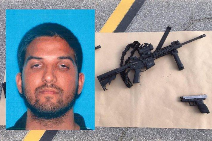Farook entró armado al edificio y comenzaron a disparar provocando junto a su esposa 14 muertos.
