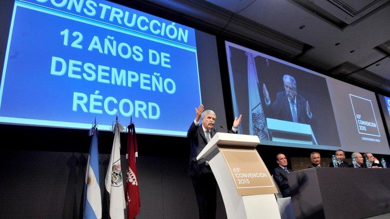 De Vido remarcó que en 12 años se crearon 500.000 nuevos empleos en la construcción.