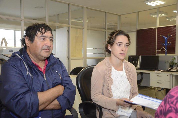 Betania Viegas y José Villagra