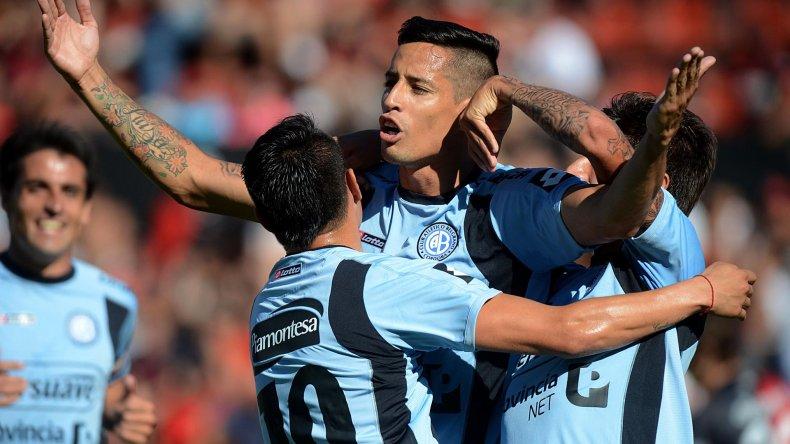 Belgrano de Córdoba viene de vencer 1-0 a Colón con un gol de Fernando Márquez.