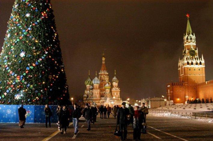 Navidad 2015: Moscú - Rusia