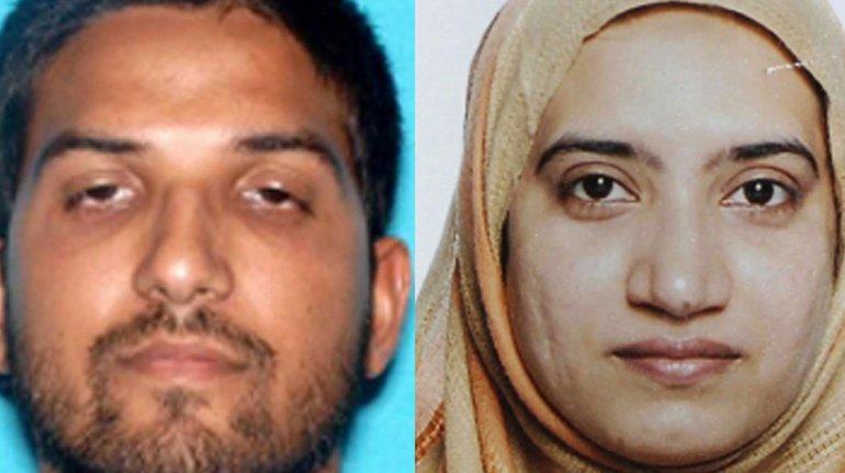 Tashfeen Malik y Syed Rizwan Farook pertenecerían al Estado Islámico.