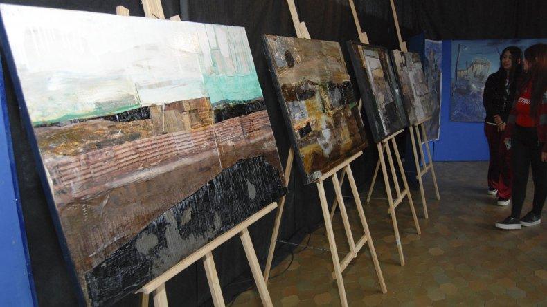 Las obras de César Barrientos y Franca Pacetti podrá ser apreciada el miércoles en la asociación vecinal del barrio Balcón del Paraíso.