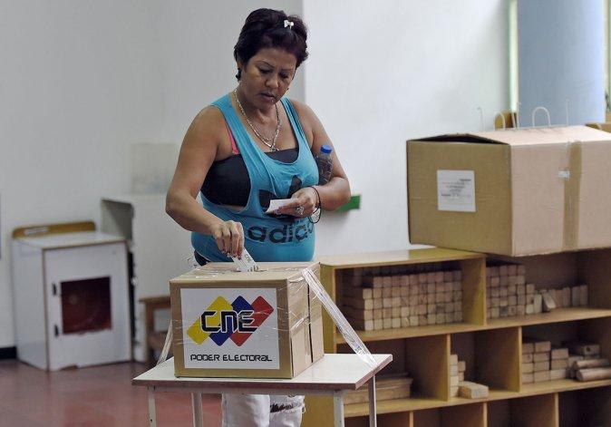 La ciudadanía venezolana se movilizó para elegir diputados nacionales.