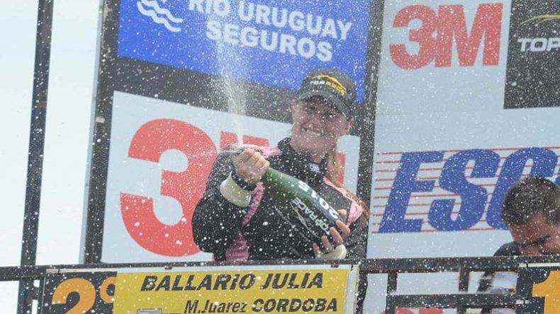 Julia Ballario ganó en la Copa Damas