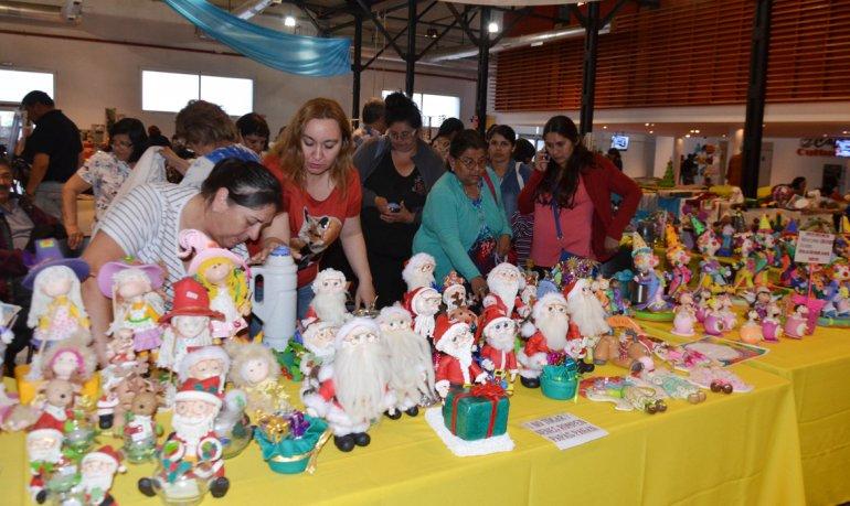 Una multitud visitó la muestra anual de talleres barriales que se desarrolló el último fin de semana en el Centro Cultural y en el Centro de Información Pública.