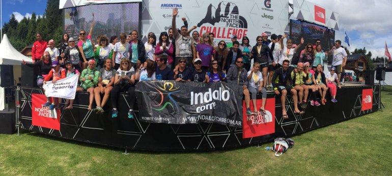 Indalo Corre a pleno luego de completar su participación en The North Face Challenge Argentina 2015 en Bariloche.