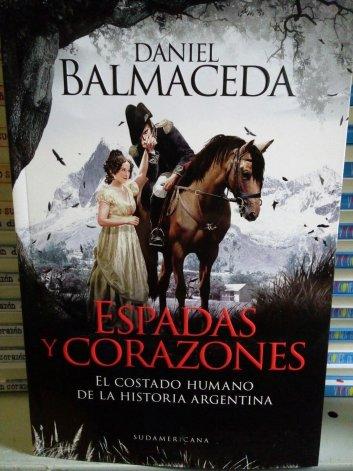 El libro de Balmaceda aborda hechos marginales de la historia argentina.