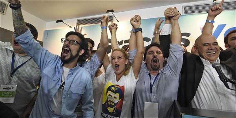 La oposición ganó una elección clave en Venezuela.