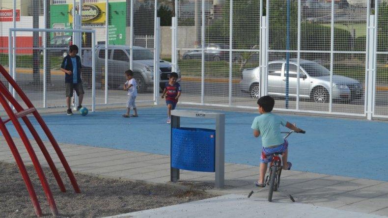 El Quirno Costa también  cuenta con nueva plaza