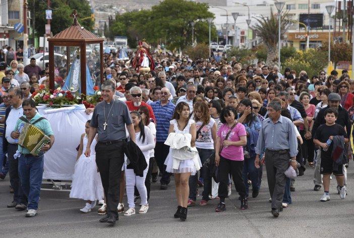 Multitudinarias celebraciones por   el Día de la Inmaculada Concepción