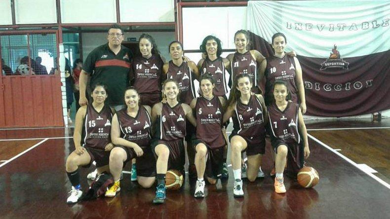 El equipo femenino de Federación Deportiva se consagró campeón en su casa.