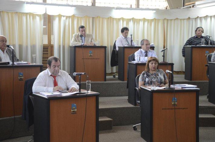 En su última sesión la composición saliente del Concejo Deliberante aprobó el régimen tributario2016.