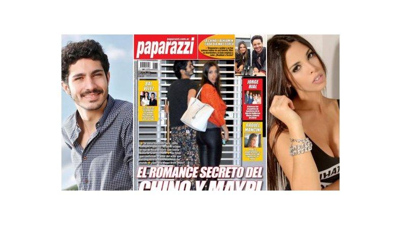 La foto que confirma el romance del Chino Darín con Maipi Delgado